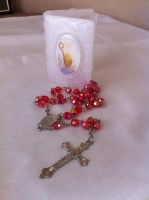 Confirmation Rosary with Case